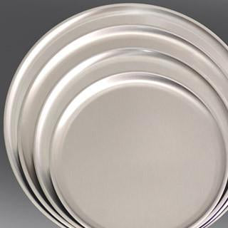 STAINLESS STEEL PIZZA TRAYS - CROWN COOKWARE CA WEB STORE