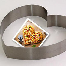 STAINLESS STEEL HEART CAKE RING - CROWN COOKWARE CA WEB STORE