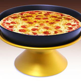 PIZZA & CAKE PAN STAND ANODIZED - CROWN COOKWARE CA WEB STORE