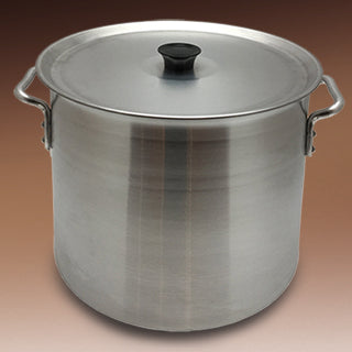 Stockpot aluminum with cover