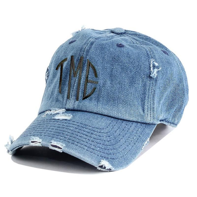 Premium Distressed Cotton Hat