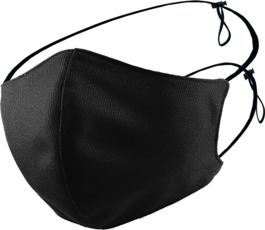 Mask Adjustable String - Black