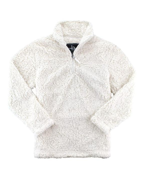 Sherpa Quarter-Zip Pullover - Youth