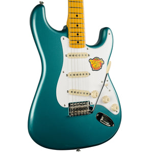 SQUIER CLASSIC VIBE 50'S STRAT SHERWOOD GREEN METALLIC MATCHING HEADSTOCK
