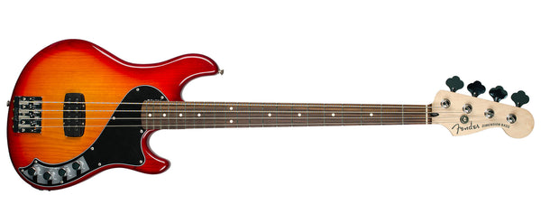 FENDER DELUXE DIMENSION BASS IV ROSEWOOD AGED CHERRY BURST
