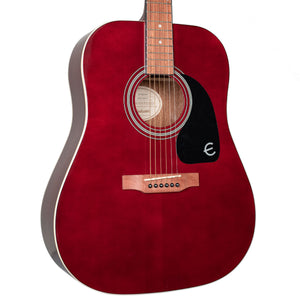 EPIPHONE DR-100 ACOUSTIC - WINE RED