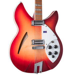 USED RICKENBACKER 360/12C63 FIREGLO WITH CASE