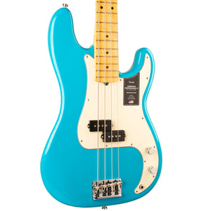 FENDER AMERICAN PROFESSIONAL II PRECISION BASS - MIAMI BLUE