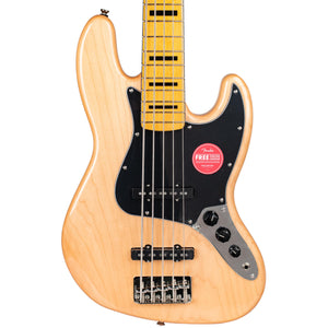 SQUIER CLASSIC VIBE '70S JAZZ BASS V - NATURAL