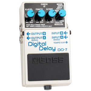 USED BOSS DD-7 DIGITAL DELAY WITH BOX