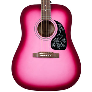 EPIPHONE STARLING ACOUSTIC - HOT PINK