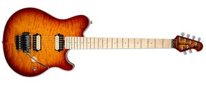 ERNIE BALL AXIS HONEY BURST MN MATCHING HEADSTOCK NO PICKGUARD