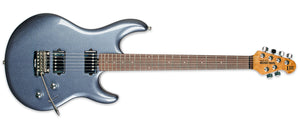 ERNIE BALL LUKE 3 HH TREM BODHI BLUE ROASTED RW NO PICKGUARD