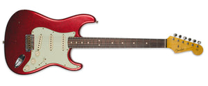 FENDER 1963 STRATOCASTER JOURNEYMAN RELIC RW AGED RED SPARKLE