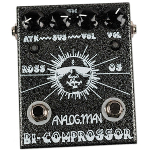 USED ANALOGMAN BI-COMP REV 5 W/ NOS 1979 RCA COMPRESSOR CHIP AND BOX
