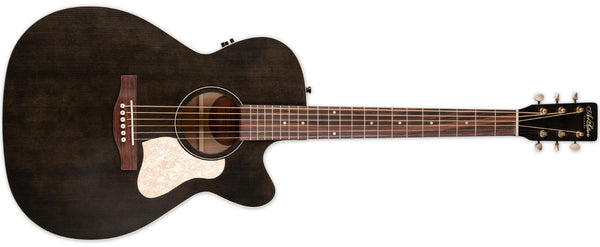 ART & LUTHERIE LEGACY FADED BLACK CW  W/ QIT PICKUP
