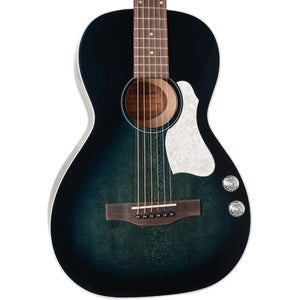 ART & LUTHERIE ROADHOUSE HIGH GLOSS INDIGO BURST WITH Q-DISCRETE PICKUP AND BAG