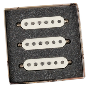 BARE KNUCKLE 6 STRING SLOW HAND SINGLE COIL SET PARCHMENT