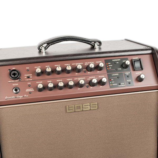 BOSS ACOUSTIC SINGER PRO AMPLIFIER