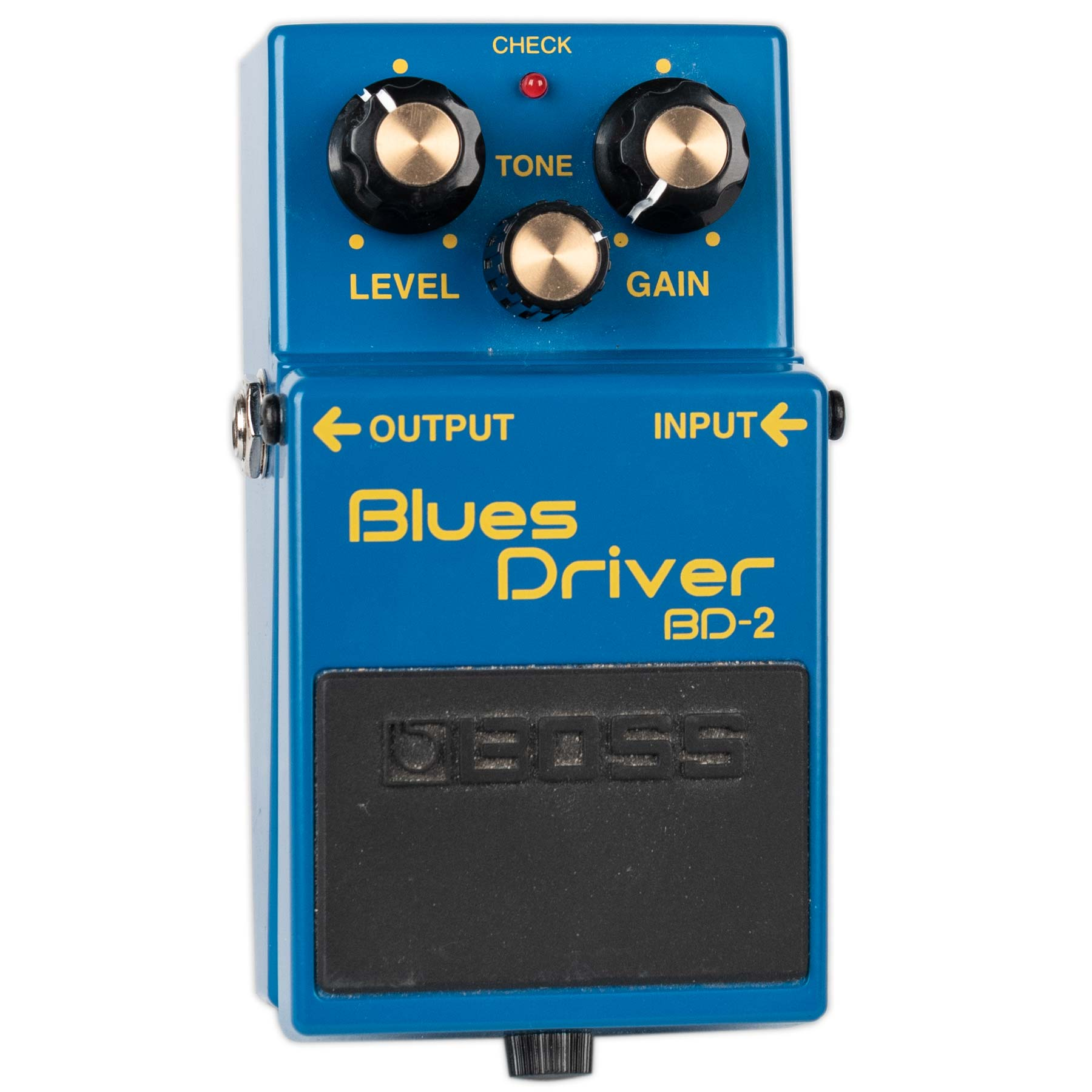 USED BOSS BD-2 BLUES DRIVER WITH BOX