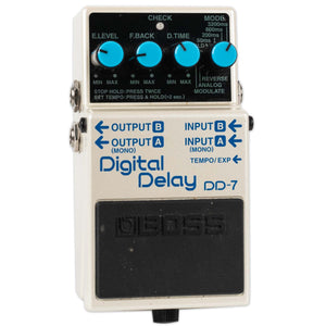 USED BOSS DD-7 DIGITAL DELAY