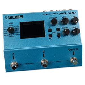 USED BOSS MD-500 WITH BOX