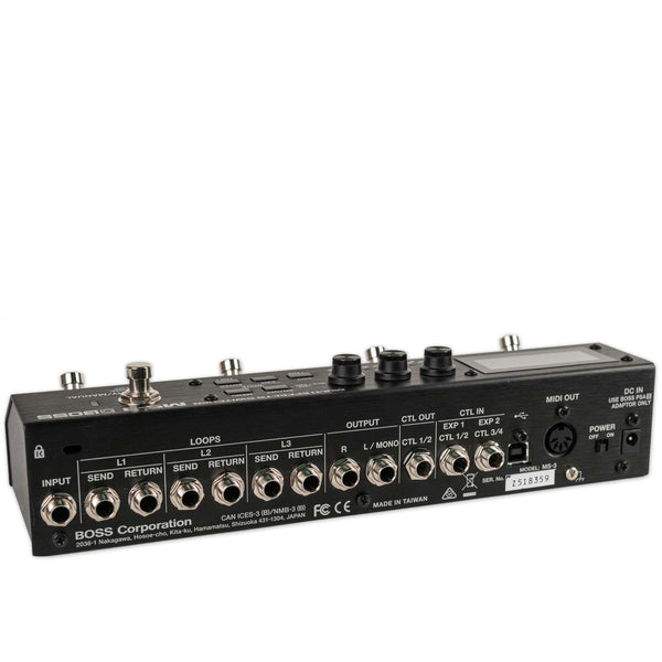 USED BOSS MS-3 WITH BOX