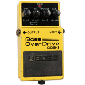 USED BOSS ODB-3 BASS OVERDRIVE