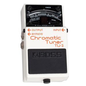 USED BOSS TU-3 TUNER WITH BOX
