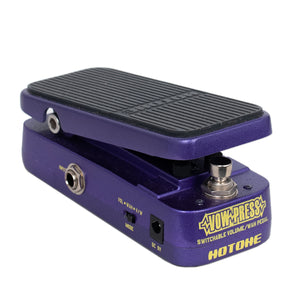 USED HOTONE VOW-PRESS VOLUME/WAH PEDAL WITH BOX