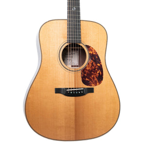BOUCHER BG-52-G BLUEGRASS GOOSE DREADNOUGHT WITH TORREFIED GOLD TOUCH ADIRONDACK RED SPRUCE/INDIAN ROSEWOOD AND TWEED CASE