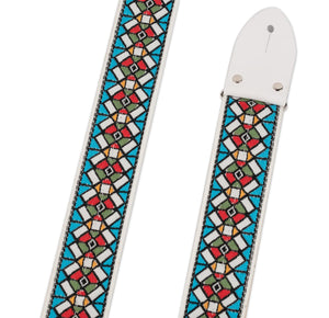 "ACE STAINED GLASS - 2"" VINTAGE REISSUE STRAP"