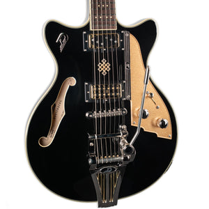 DUESENBERG JOE WALSH SIGNATURE MODEL WITH CUSTOM LINE CASE- BLACK