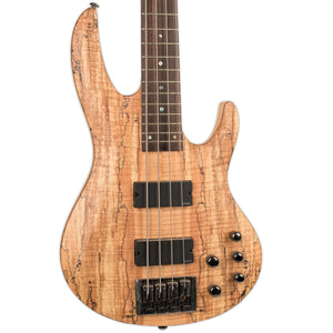 USED LTD B-414SM BASS WITH CASE