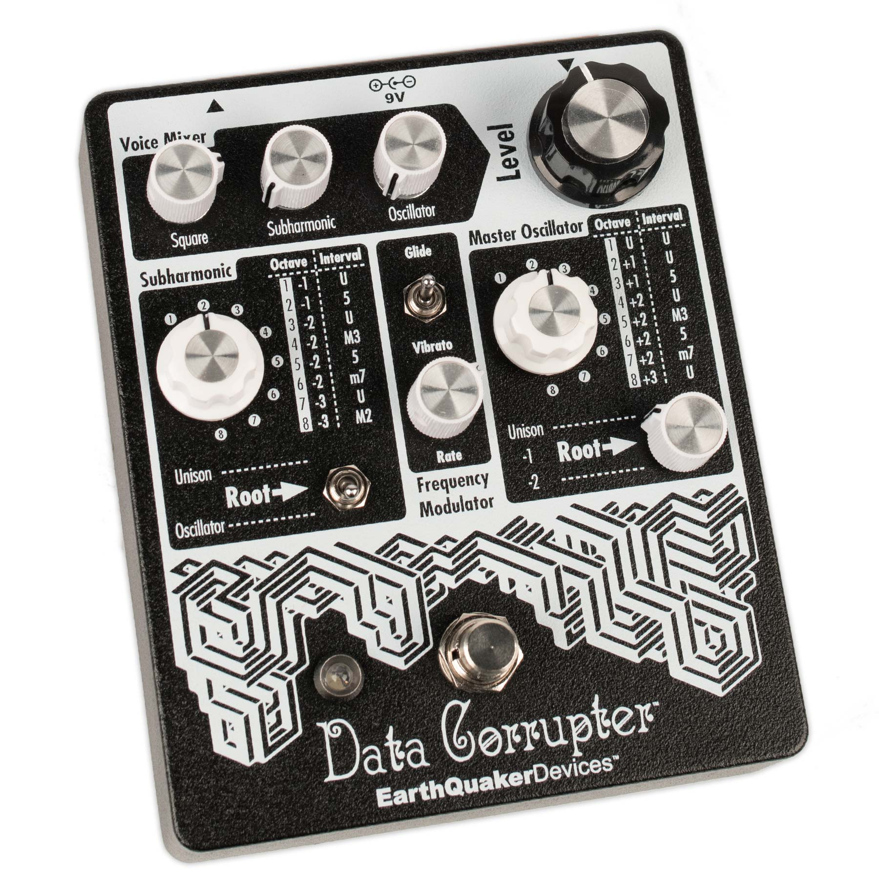 EARTHQUAKER DEVICES DATA CORRUPTER MODULATED MONOPHONIC HARMONIZER