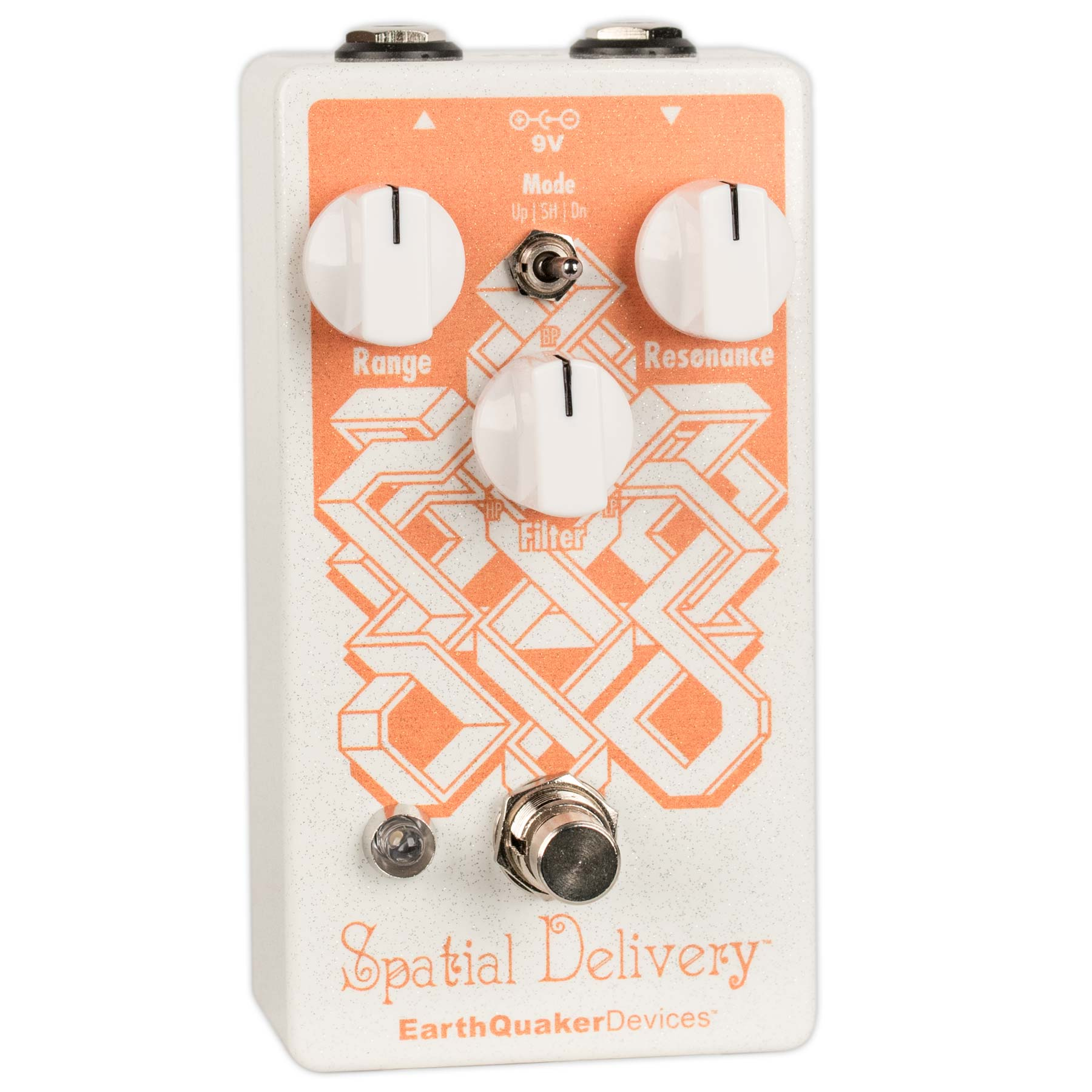EARTHQUAKER DEVICES SPATIAL DELIVERY V2 SAMPLE & HOLD/ENVELOPE FILTER V2