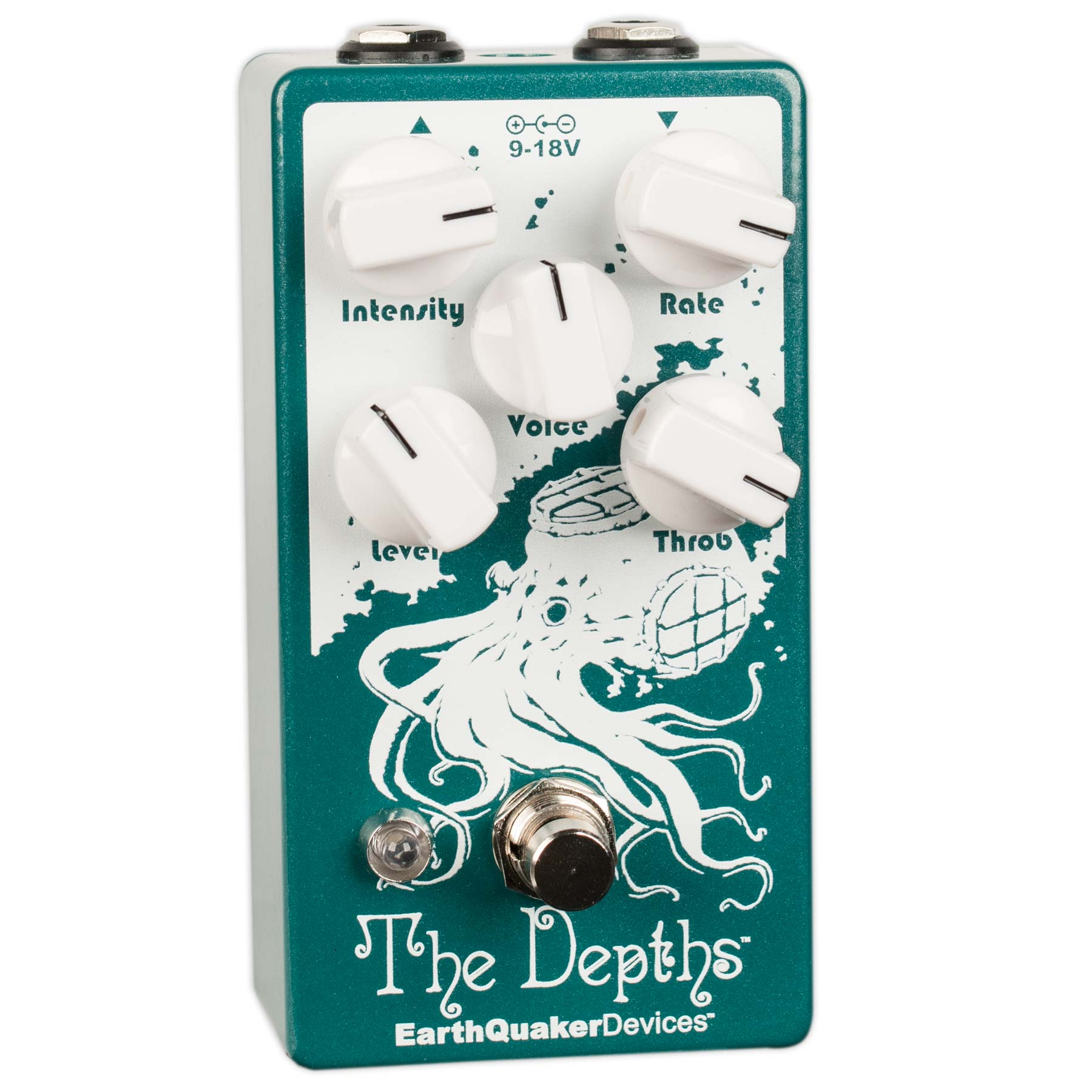 EARTHQUAKER DEVICES DEPTHS ANALOG OPTICAL VIBE MACHINE V2