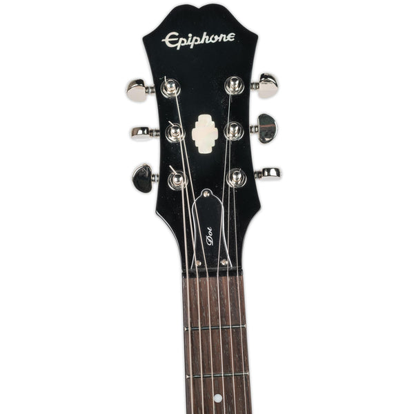 USED EPIPHONE DOT EBONY WITH CASE