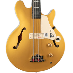 EPIPHONE JACK CASADY LES PAUL SIGNATURE BASS- METALLIC GOLD