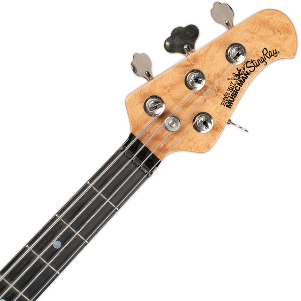 USED ERNIE BALL MUSICMAN BFR STINGRAY BASS WITH CASE