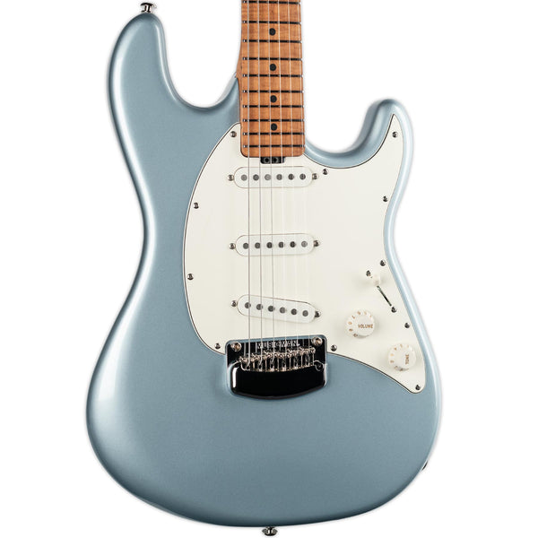 ERNIE BALL MUSIC MAN CUTLASS RS SSS- FIREMIST SILVER