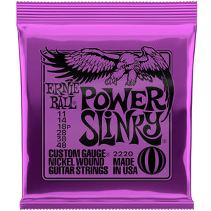 ERNIE BALL POWER SLINKY 11-50 ELECTRIC GUITAR STRINGS 3 PACK