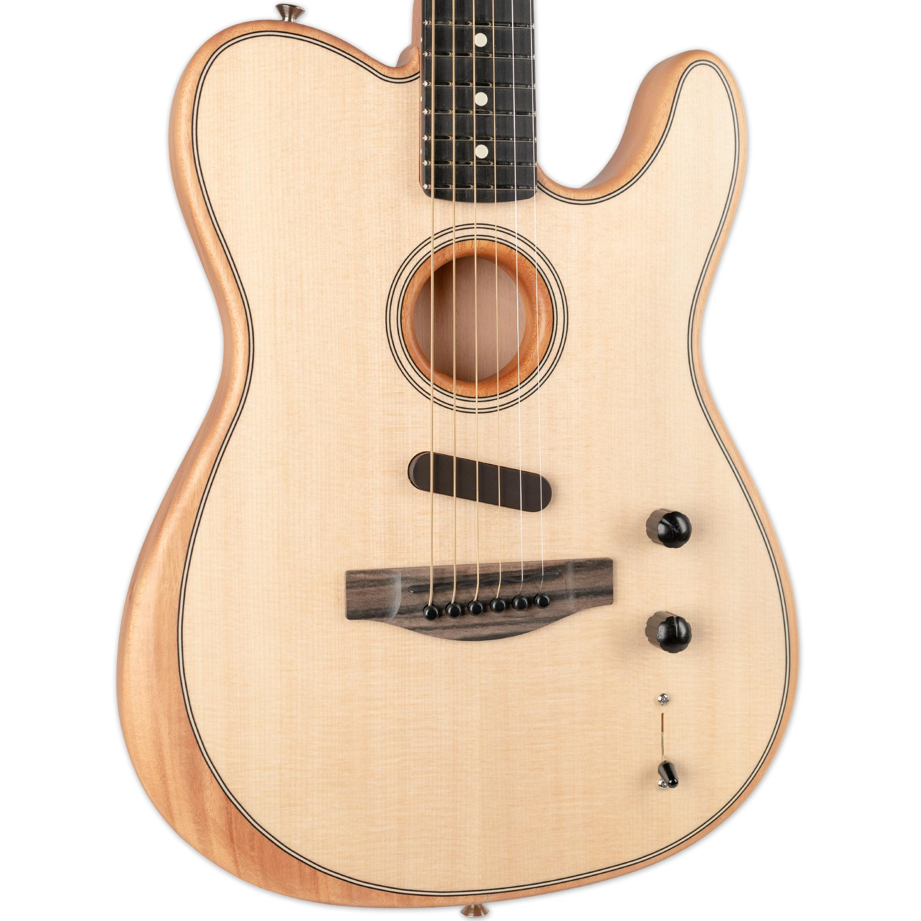 FENDER ACOUSTASONIC TELECASTER NATURAL