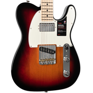 FENDER AMERICAN PERFORMER TELECASTER HUM MAPLE FINGERBOARD 3-COLOUR SUNBURST