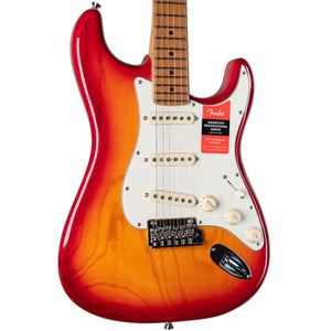 FENDER LIMITED EDITION AMERICAN PROFESSIONAL STRATOCASTER ROASTED NECK - AGED CHERRY BURST