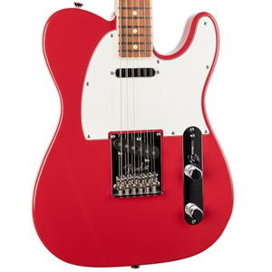 USED FENDER AMERICAN STANDARD CHANNEL BOUND TELECASTER- RW FINGERBOARD, MAPLE NECK DAKOTA RED WITH CASE