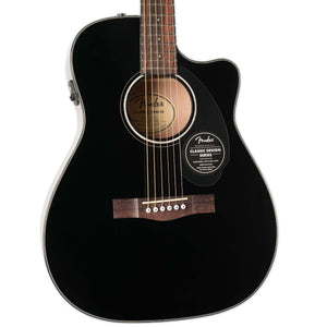 FENDER CC-60SCE CONCERT SIZE ACOUSTIC ELECTRIC BLACK