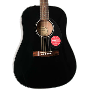 FENDER CD-60S DREADNOUGHT ACOUSTIC BLACK