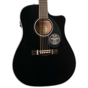 FENDER CD-60SCE DREADNOUGHT ACOUSTIC ELECTRIC BLACK