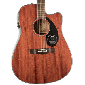 FENDER CD-60SCE DREADNOUGHT ACOUSTIC ELECTRIC ALL MAHOGANY